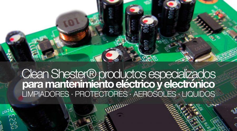 Productos para el mantenimiento eléctrico y electrónico