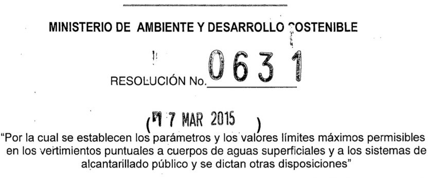Resolución 0631 de MinAmbiente: evite multas y sanciones