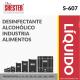 DESINFECTANTE ALCOHÓLICO INDUSTRIA ALIMENTOS – S-607