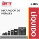 DECAPADOR DE METALES – S-805