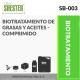 BIOTRATAMIENTO DE GRASAS Y ACEITES – COMPRIMIDO – SB-003
