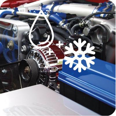 Refrigerantes de motores