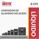 LIMPIADOR DE ALUMINIO NO ACIDO – S-171