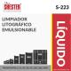 LIMPIADOR LITOGRÁFICO EMULSIONABLE – S-223