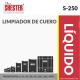 LIMPIADOR DE CUERO – S-250