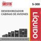 DESODORIZADOR CABINAS DE AVIONES – S-300