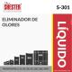 ELIMINADOR DE OLORES – S-301