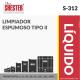 LIMPIADOR ESPUMOSO TIPO II – S-312