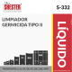 LIMPIADOR GERMICIDA TIPO II – S-332