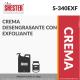 CREMA DESENGRASANTE CON EXFOLIANTE – S-340EXF