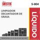 LIMPIADOR DECANTADOR DE GRASA – S-804