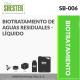 BIOTRATAMIENTO DE AGUAS RESIDUALES – LÍQUIDO – SB-006