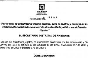 Artículo 23 Resolución 3957:2009 – Trampas de Grasa – Secretaría de Ambiente – Alcaldía Mayor de Bogotá D.C.