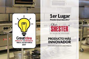 1er Lugar Premio GREAT IDEA – 2017- Clean Shester®