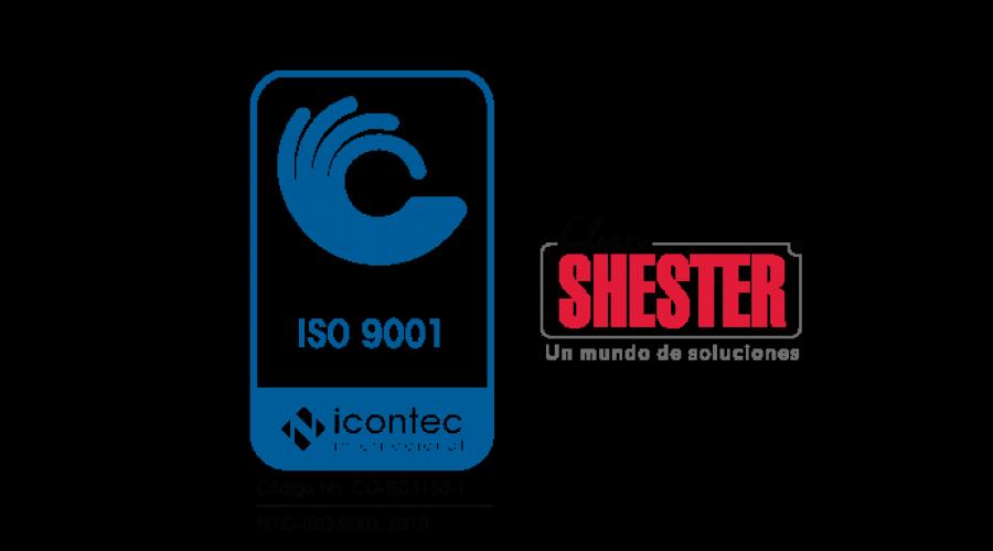 Certificación ISO 9001: 2015 de Clean Shester®