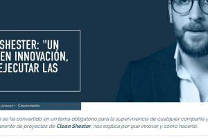 Clean Shester® habla de Innovación en PYMAS como expertos invitados