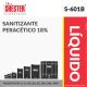 SANITIZANTE PERACÉTICO 18% – S-601B