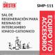 SAL DE REGENERACIÓN PARA RESINAS DE INTERCAMBIO IONICO-CATIONICO – SMP-111